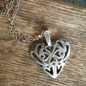Jewelry - Silver Heart Pendant